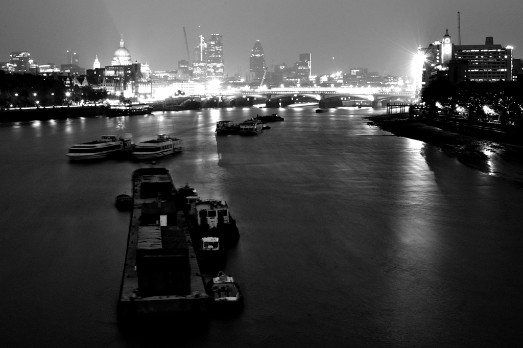 Tarmac River. London